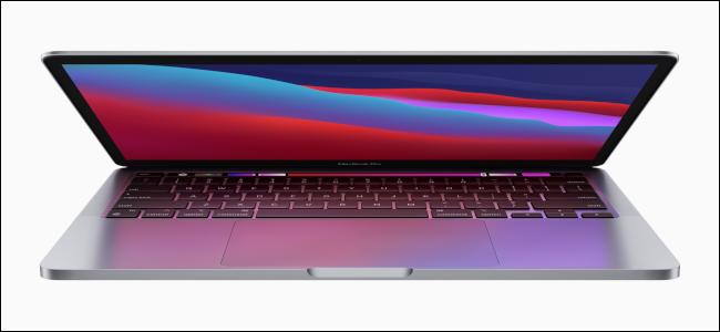 جهاز MacBook Pro المستند إلى M1