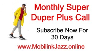 Jazz Monthly Super Duper Plus Call | Monthly All Network