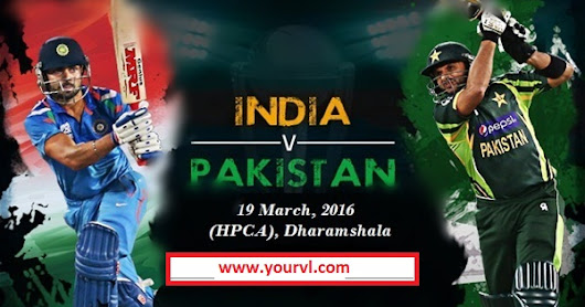 Watch free live Cricket online India vs Pakistan t20 ICC world cup 2016