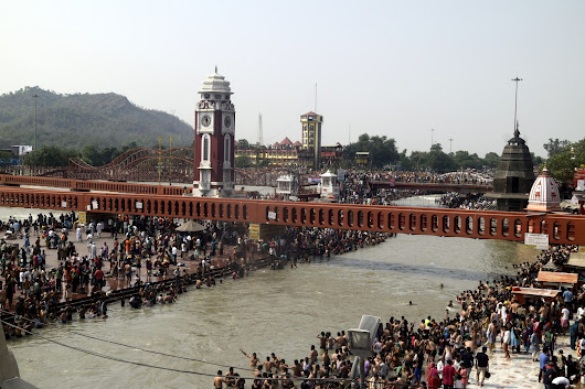 Haridwar - The Ancient Holy City by the River Ganges