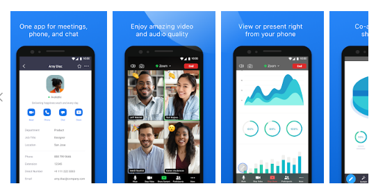 zoom cloud meeting app free download for android