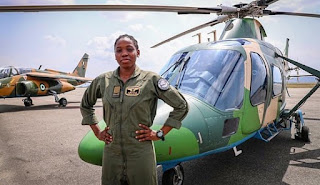 Nigeria loses first, only female combat Helicopter Pilot