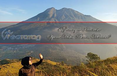 Gunung di Indonesia  Syarat Mistis