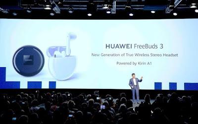 Richard Yu memperkenalkan Huawei FreeBuds 3