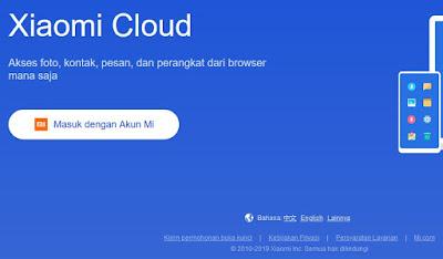 Cara Mengatasi Lupa Password Akun Mi Cloud 1