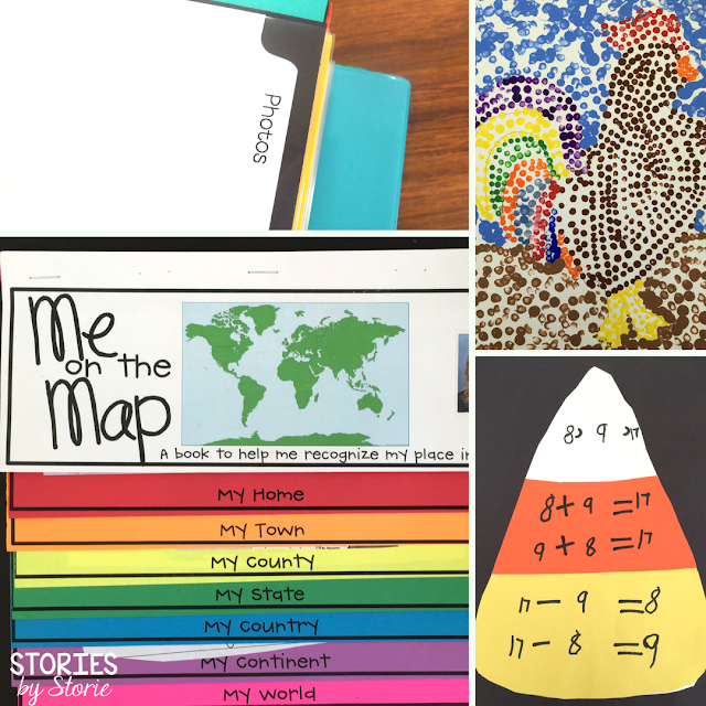 When I started teaching in the primary grades, I began collecting work samples throughout the year to be placed in a portfolio. This was a binder filled with student work that demonstrated growth throughout the school year along with photos to remember special events and activities. Sheet protectors were the easiest way to add student photos, bulky projects, and art pieces to the binder without punching holes through them.