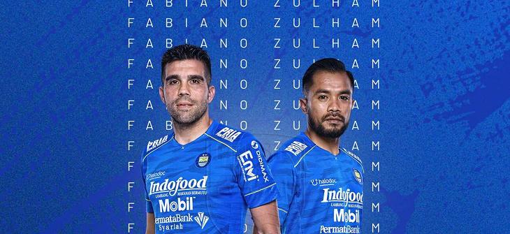 Persib Bandung Coret Fabiano Beltrame dan Zulham Zamrun