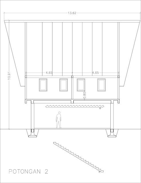 desain rumah panggung