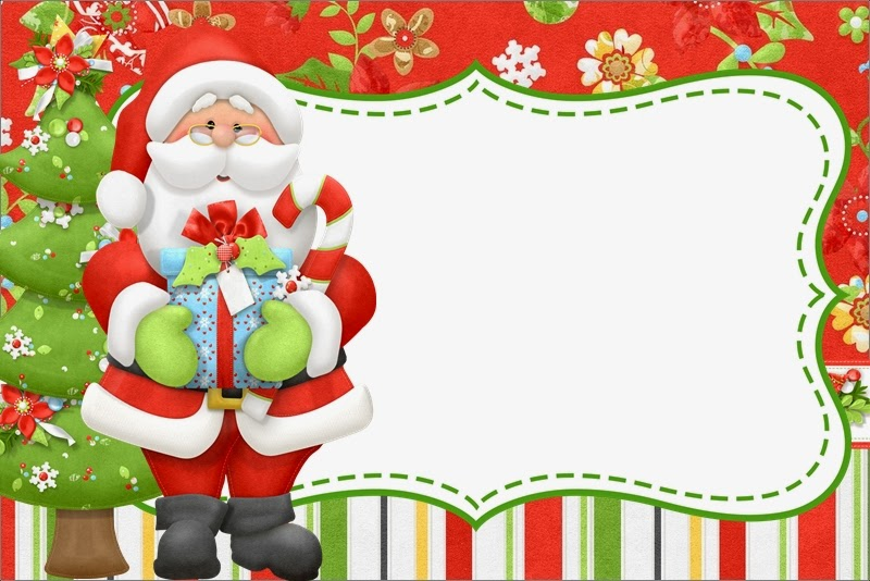 Santa Y Renos Kit Para Navidad Para Descargar Gratis