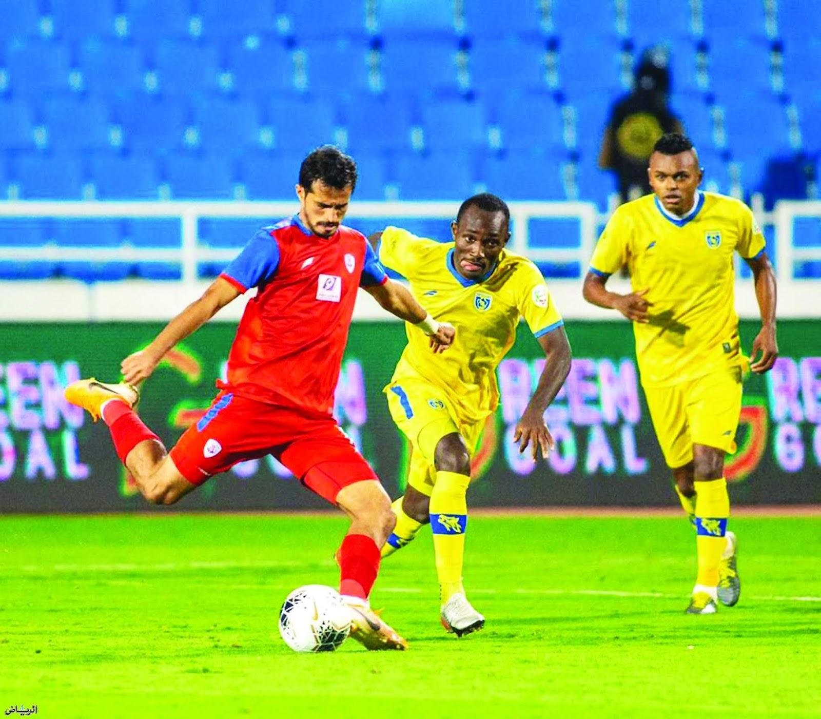 نتيجة مباراة أبها والفيصلي بتاريخ 25-01-2020 الدوري السعودي