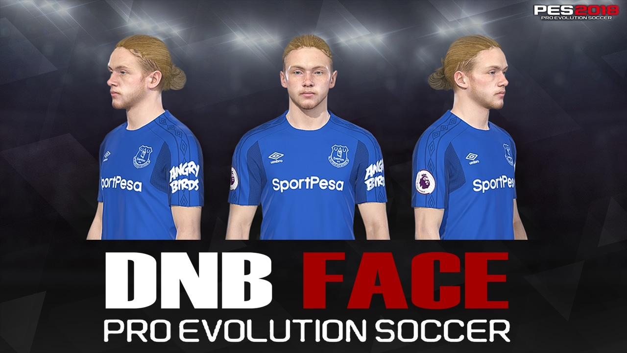PES 2018 T. Davies Face by DNB FACE