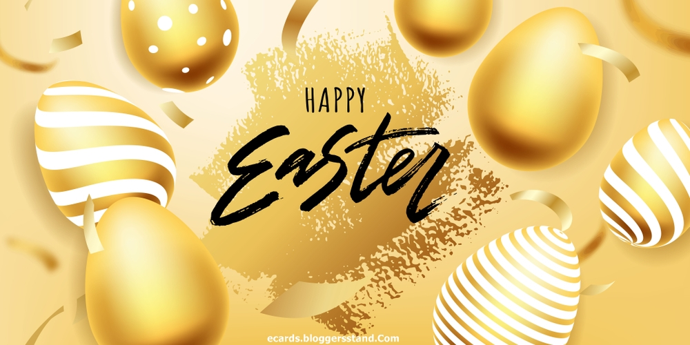 Happy Easter Day Wishes Greeting With Your Name