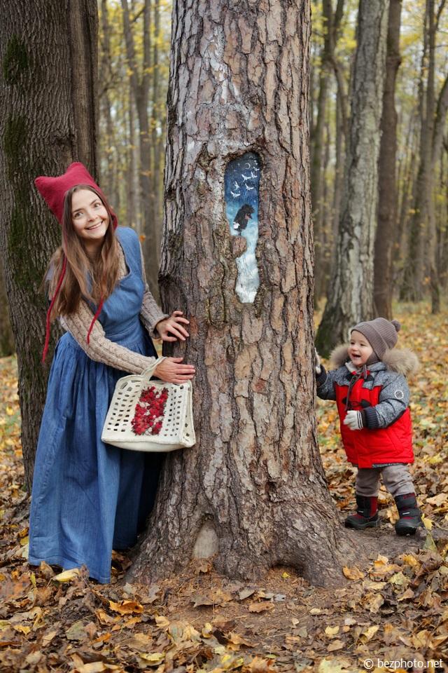 рисунки на деревьях измайловский парк