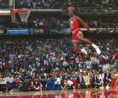 Michael Jordan en Basketball