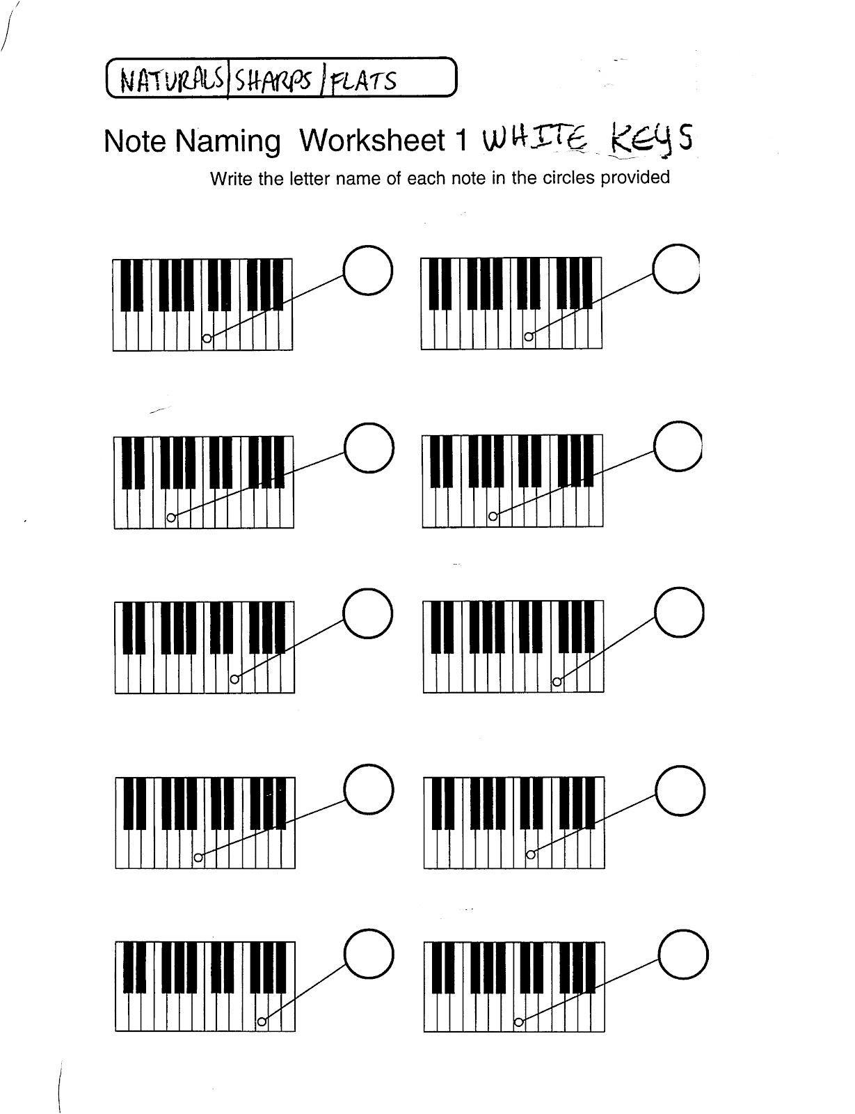 Miss Jacobson S Music Theory 3 Musical Alphabet On The