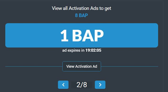 ptcshare bap points to get ads