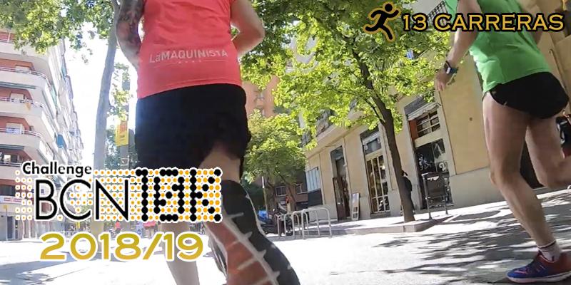 ChallengeBCN10K 2018/19 - 13 carreras