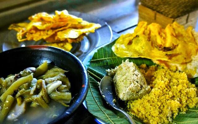 Kuliner Asli Khas Purwodadi, Sego Jagung Bothok Yuyu