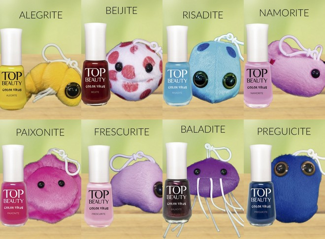 Esmalte Top Beauty :: Frescurite - Outubro Rosa
