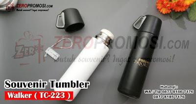Walker Vacuum Tumbler, Vacuum Insulated, Stainless Steel Tumbler Vacuum Walker, Botol Minum/ Souvenir Tumbler Vacuum Walker TC-223, Tumbler Walker Kode TC-223, Produk Souvenir Tumbler Walker Vacuum Flask Berkualitas