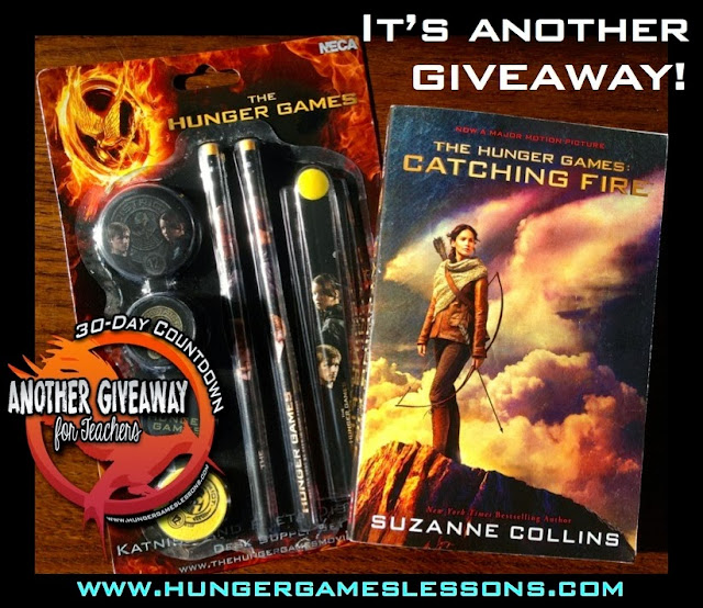 Catching Fire Movie Tie-In Novels and Desk Sets Giveaway!