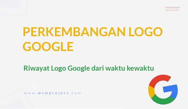Riwayat Logo Google dari waktu kewaktu