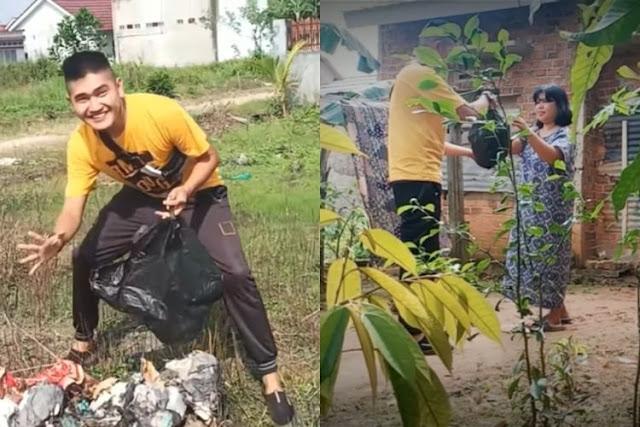 YouTuber Edo Putra yang Prank Daging Kurban Isi Sampah Diamankan Polisi