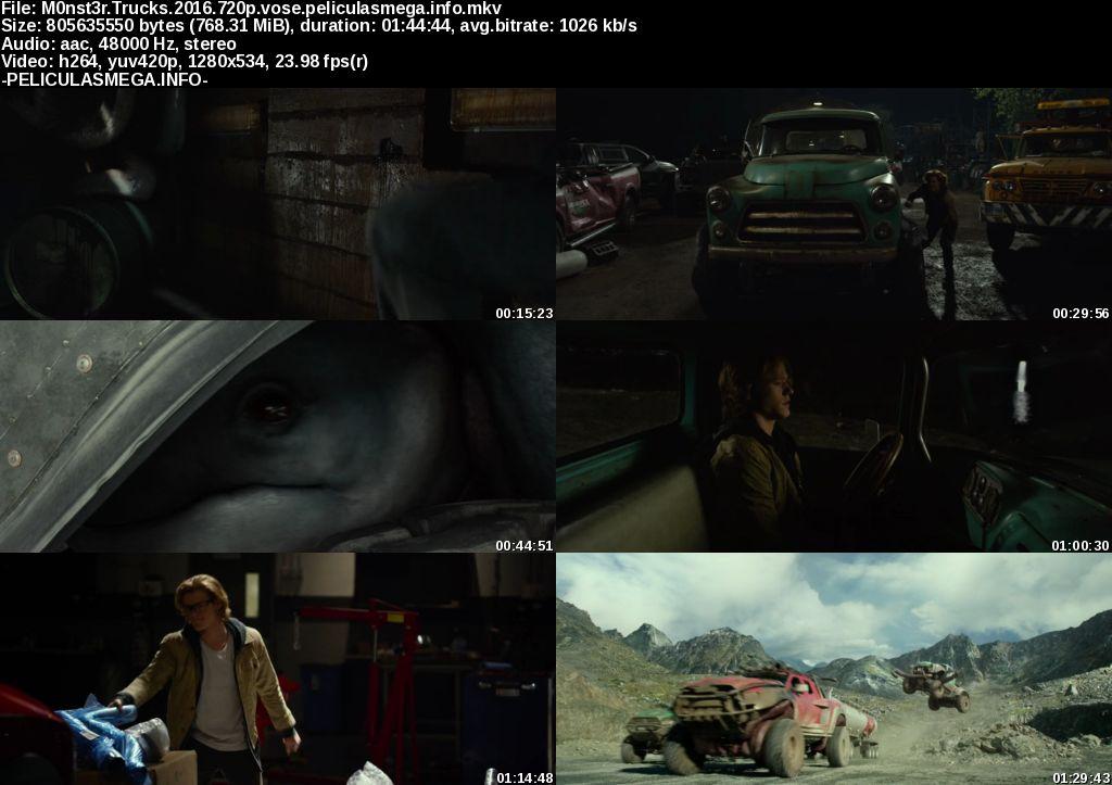 Descargar Monster Trucks Subtitulado por MEGA.