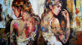 retratos-femeninos-metamorfosis-continua cuadros-al-oleo-retratos-femeninos