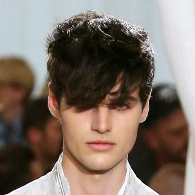 Moda cabellos peinados de hombres con flequillo 2015 - Peinados de hombres ...