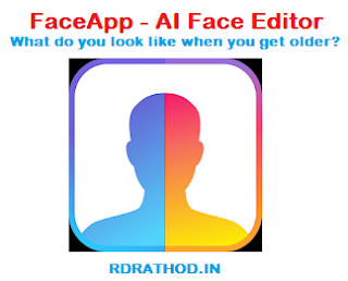 FaceApp AI Face Editor Application, What do you look like when you get older