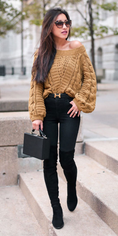 Need Style Inspiration for Fall Season. See these 31 Most Popular Fall Outfits to Truly Feel Fantastic. Fall Style via higiggle.com | jumper | #fall #falloutfits #style #jumper