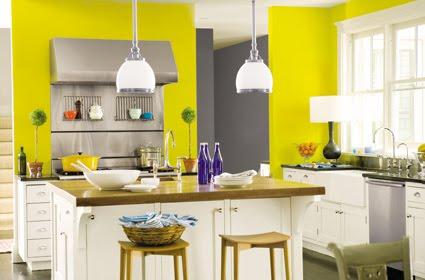 C mo decorar la cocina con poco dinero decoguia tu for Paletas de cocina decoradas