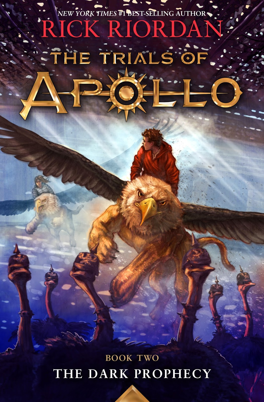 The Trials of Apollo: The Dark Prophecy by Rick Riordan