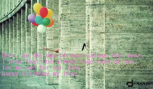 Gambar Kata Kata Ucapan Selamat Ulang Tahun Romantis