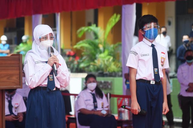 Pelajar ke Presiden Jokowi: Kami Rindu Belajar di Sekolah Pak