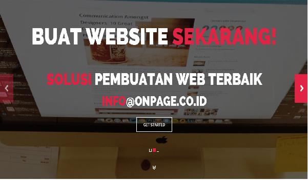Buat Website Hotel, Perusahaan, Pemerintahan di Malang