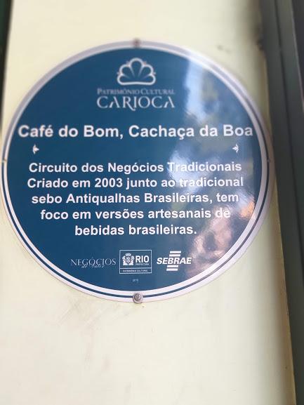 Café do Bom, Cachaça da Boa, Patrimônio Cultural