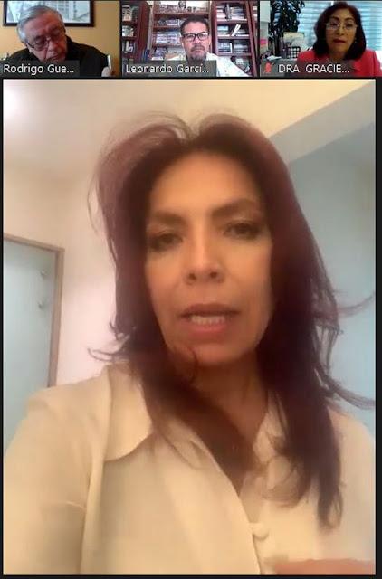 María Luisa Flores del Valle, presidenta de la Alianza para la Educación Superior (ALPES).