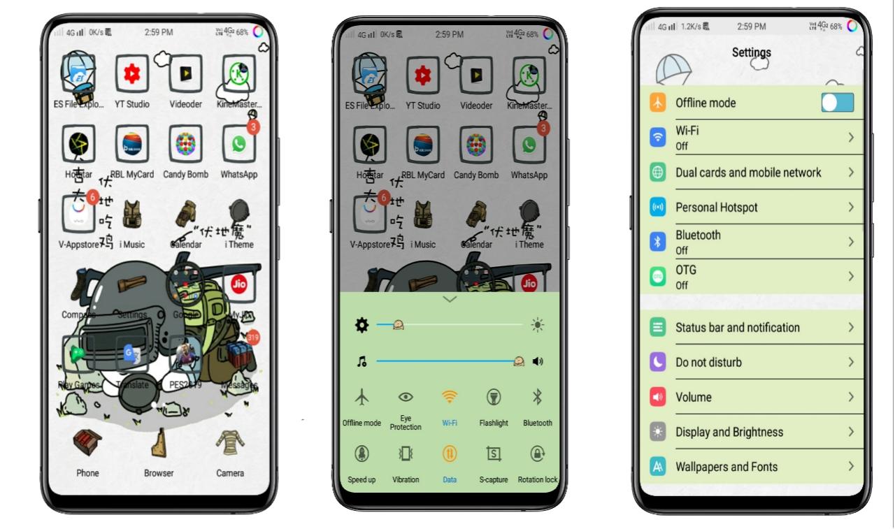 2019 - Vivo Themes And Fonts