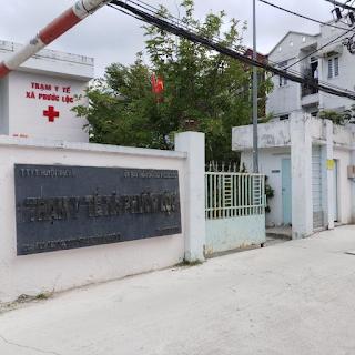 trạm y tế xã phước lộc huyện nhà bè