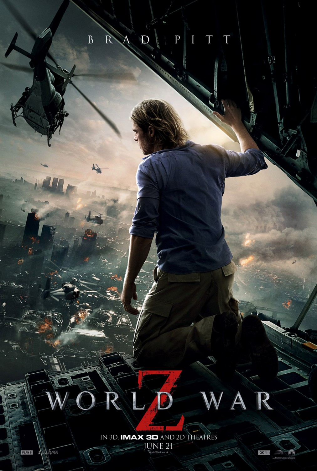 Nonton Film World War Z (2013)
