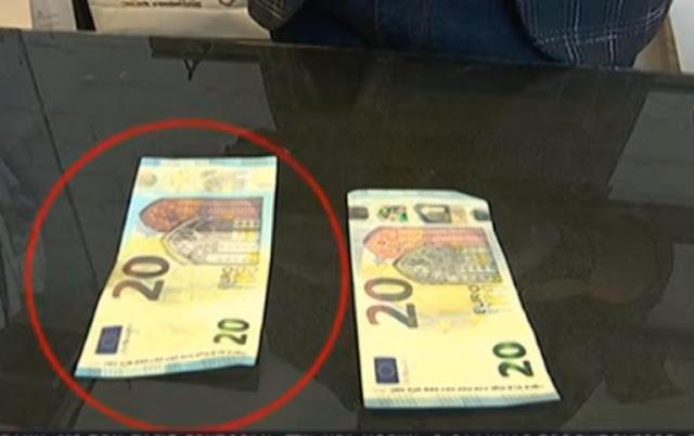 Πλαστά χαρτονομίσματα κατακλύζουν την αγορά (βίντεο)