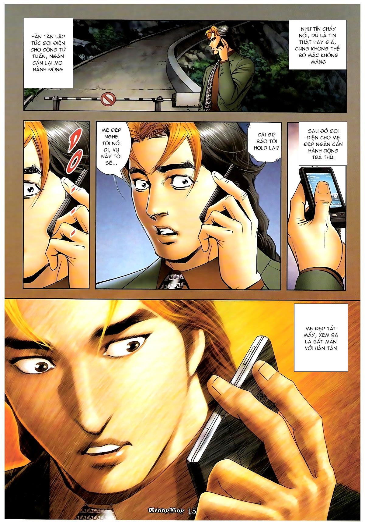 Người Trong Giang Hồ - Chapter 1263: Mua mạng Ngũ Hổ - Pic 13