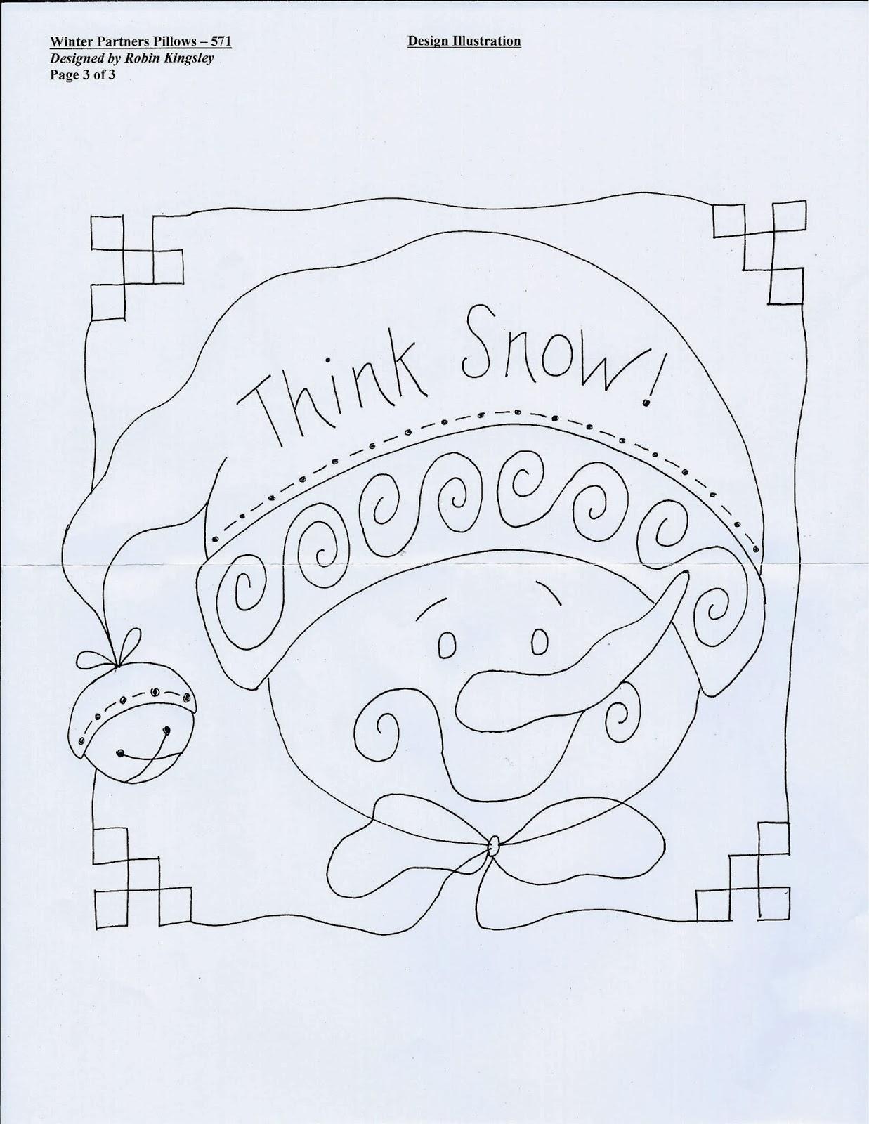 Sew Ez Quilting Snowman