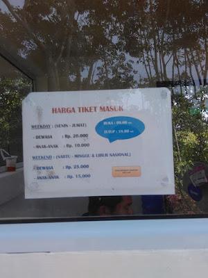 Harga tiket masuk Desa Wisata Ekang Bintan