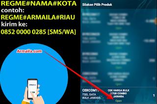 Cara Daftar dan Isi Paket 17GB Telkomsel CEKCOM17