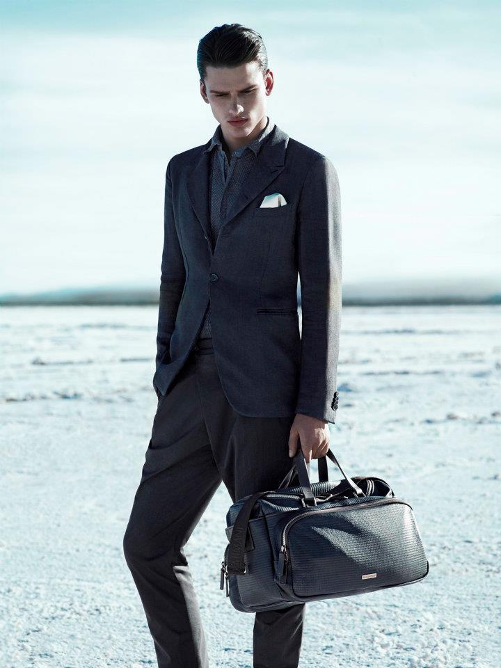 New generation's clothing line.: Giorgio Armani Men ...