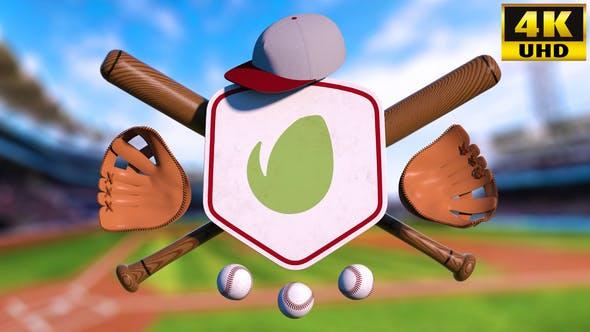 Baseball Logo Reveal Intro AE Template