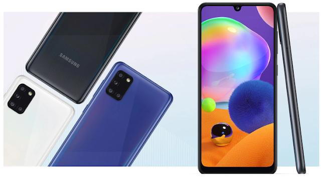 Layar Samsung A31